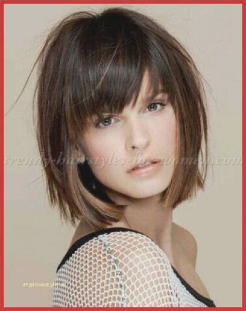 Awesome Hair Styles With Side Bangs – My Cool Hairstyle Pertaining To Latest Side Bang Medium Hairstyles (Gallery 12 of 20)