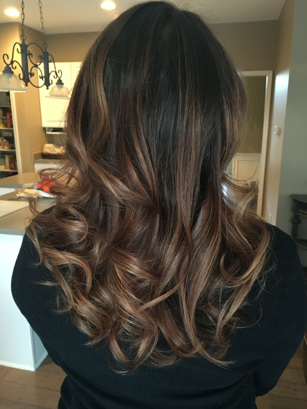 Balayage Medium Brown – Thank You Salon Bliss! (View 6 of 20)