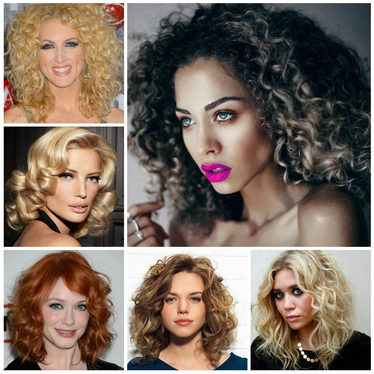 Best And Newest Big Curls Medium Hairstyles Pertaining To 2019 Medium Hairstyles For Curly Hair (View 6 of 20)