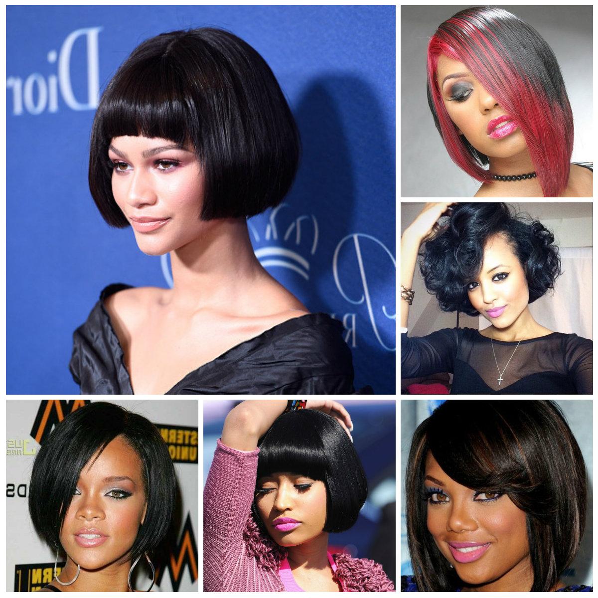 Best And Newest Black Bob Medium Hairstyles Regarding Bob Hairstyles (View 7 of 20)