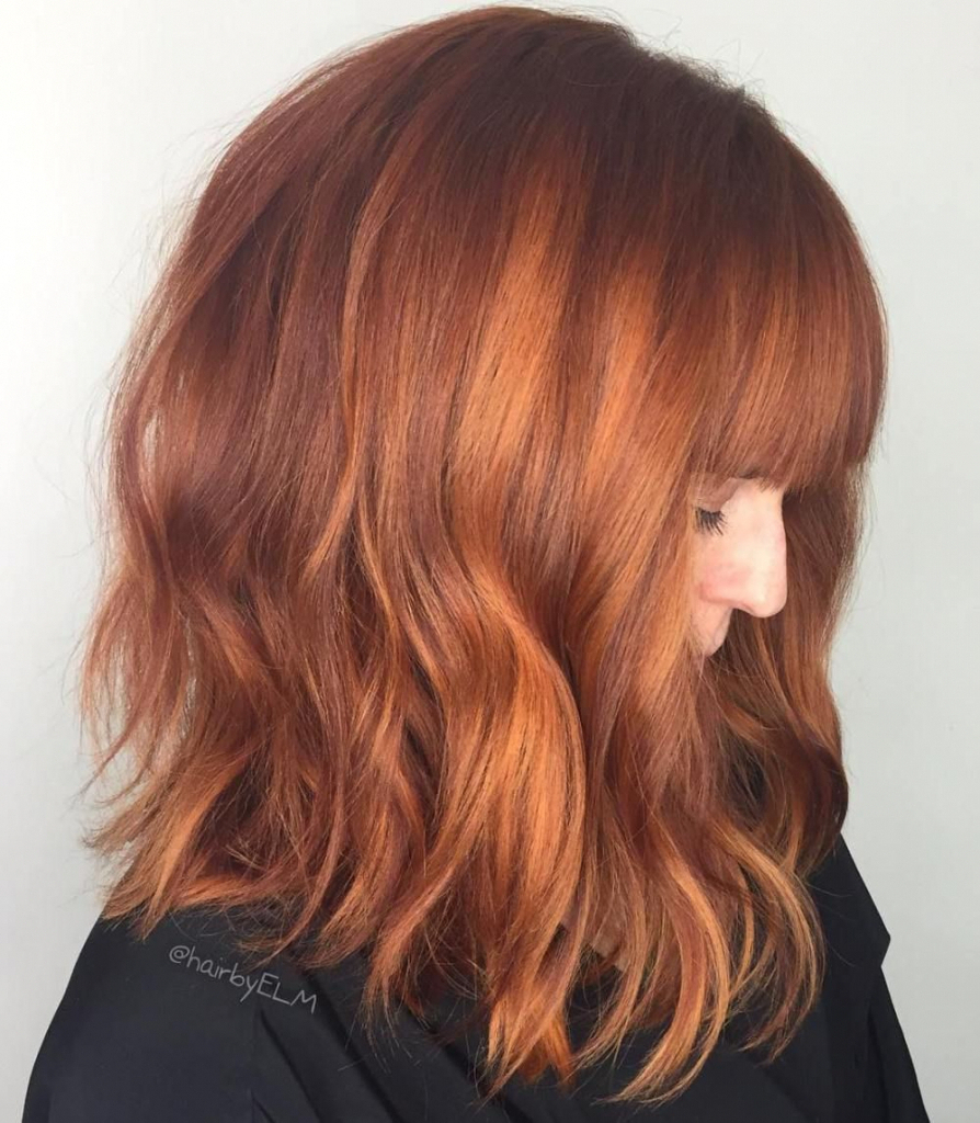 Best And Newest Bright Red Medium Hairstyles Within Red Hair Bright Red Hair Medium Length Hairstyles Pinterest (View 10 of 20)