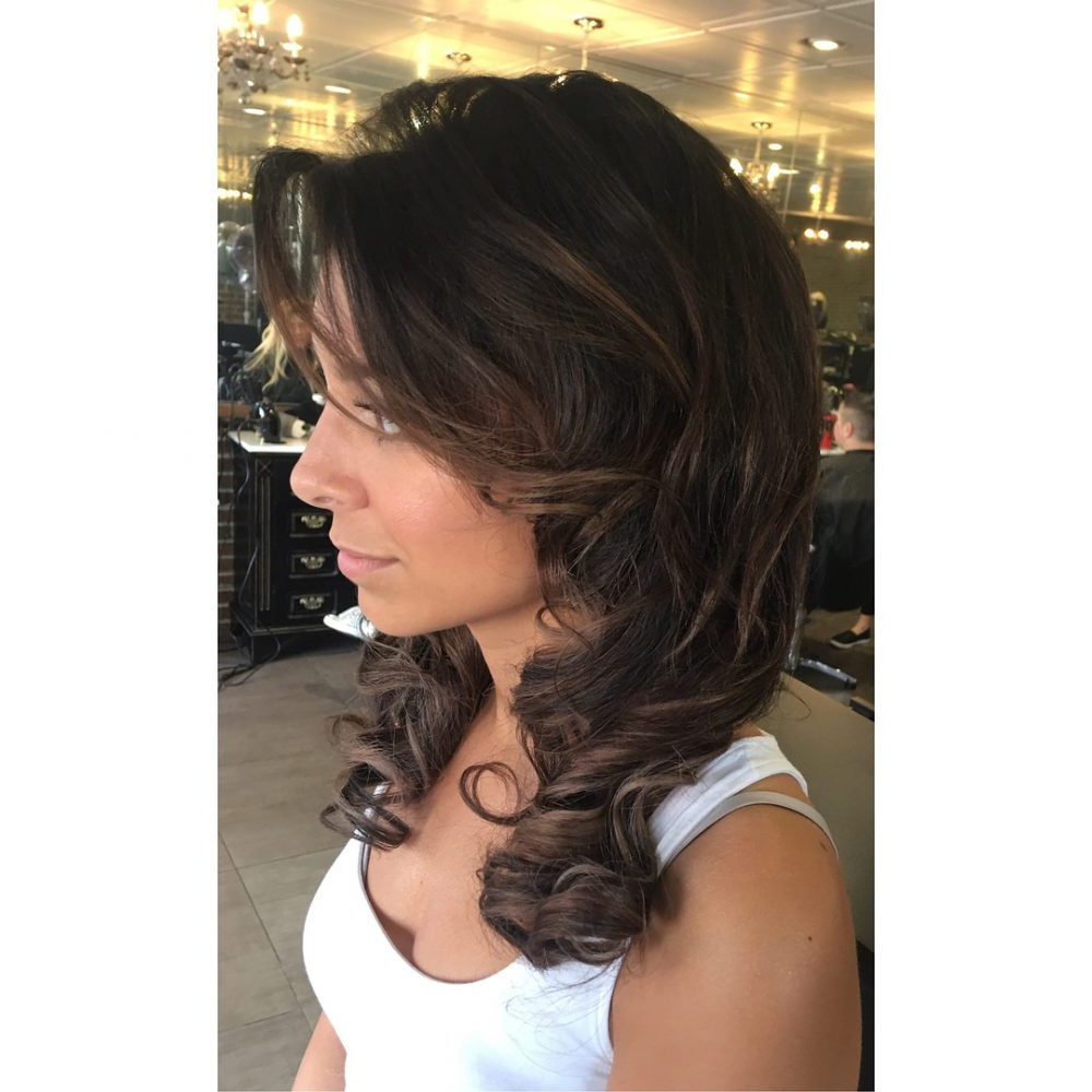 Best And Newest Curly Medium Hairstyles For Prom Within Prom Hairstyles For Medium Length Hair – Pictures And How To's (View 4 of 20)