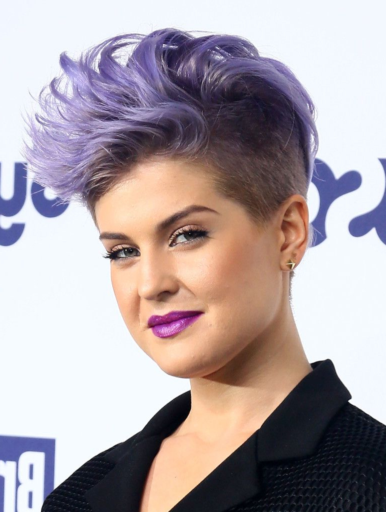 Best And Newest Extravagant Purple Mohawk Hairstyles Pertaining To Hollywood's New Cut Of Choice Is An Edgy One (View 2 of 20)