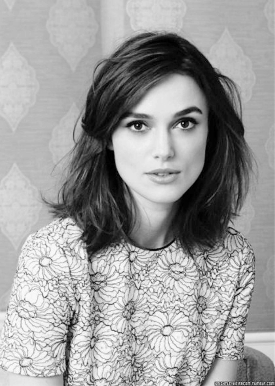 Best And Newest Keira Knightley Medium Haircuts With Regard To Pinlaurie Thacker On Haircut In  (View 6 of 20)