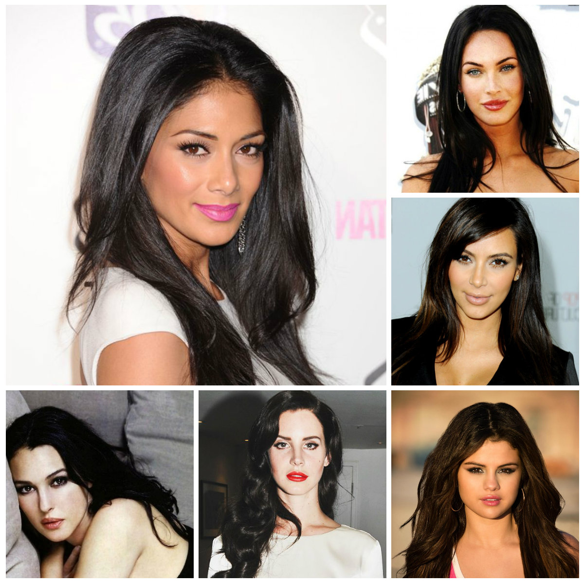 Best And Newest Medium Hairstyles With Color For Black Women With 6 Celebrities With Dark Hair Colors – Trendy Hairstyles 2019 For (View 4 of 20)