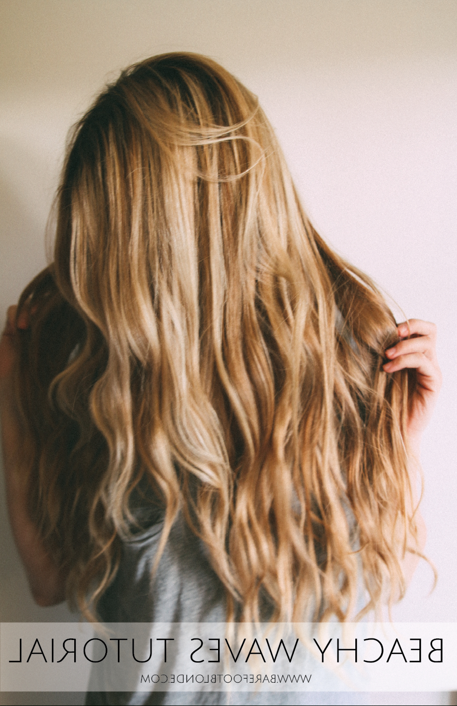 Best And Newest Salty Beach Blonde Layers Hairstyles With Beachy Waves Tutorial – Barefoot Blonde (View 4 of 20)