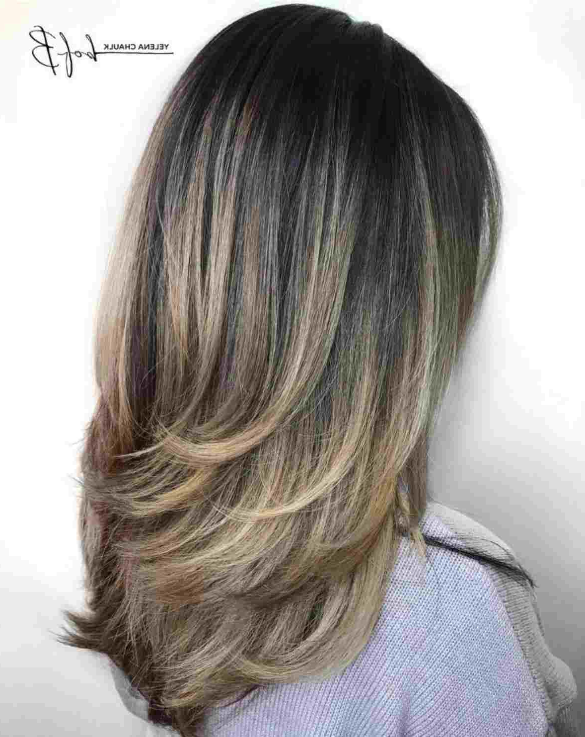 Best And Newest V Shaped Layered Medium Haircuts Pertaining To V Shaped Medium Hair V Shape In The Back With Some Long Layers! My (View 15 of 20)
