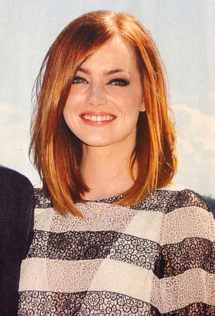 Featured Photo of Best Medium Haircuts For Round Face