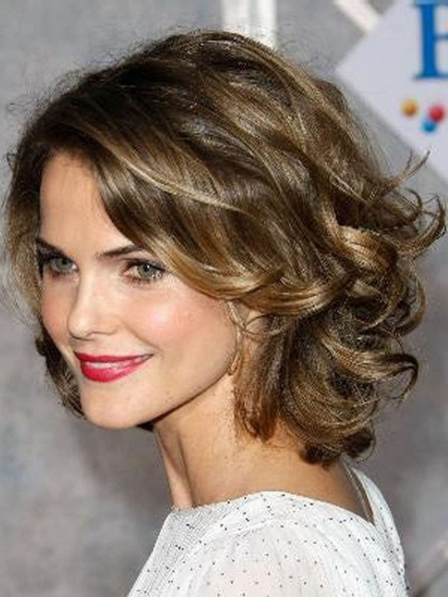 Best Medium Hairstyle On Round Face To Try In (View 8 of 20)
