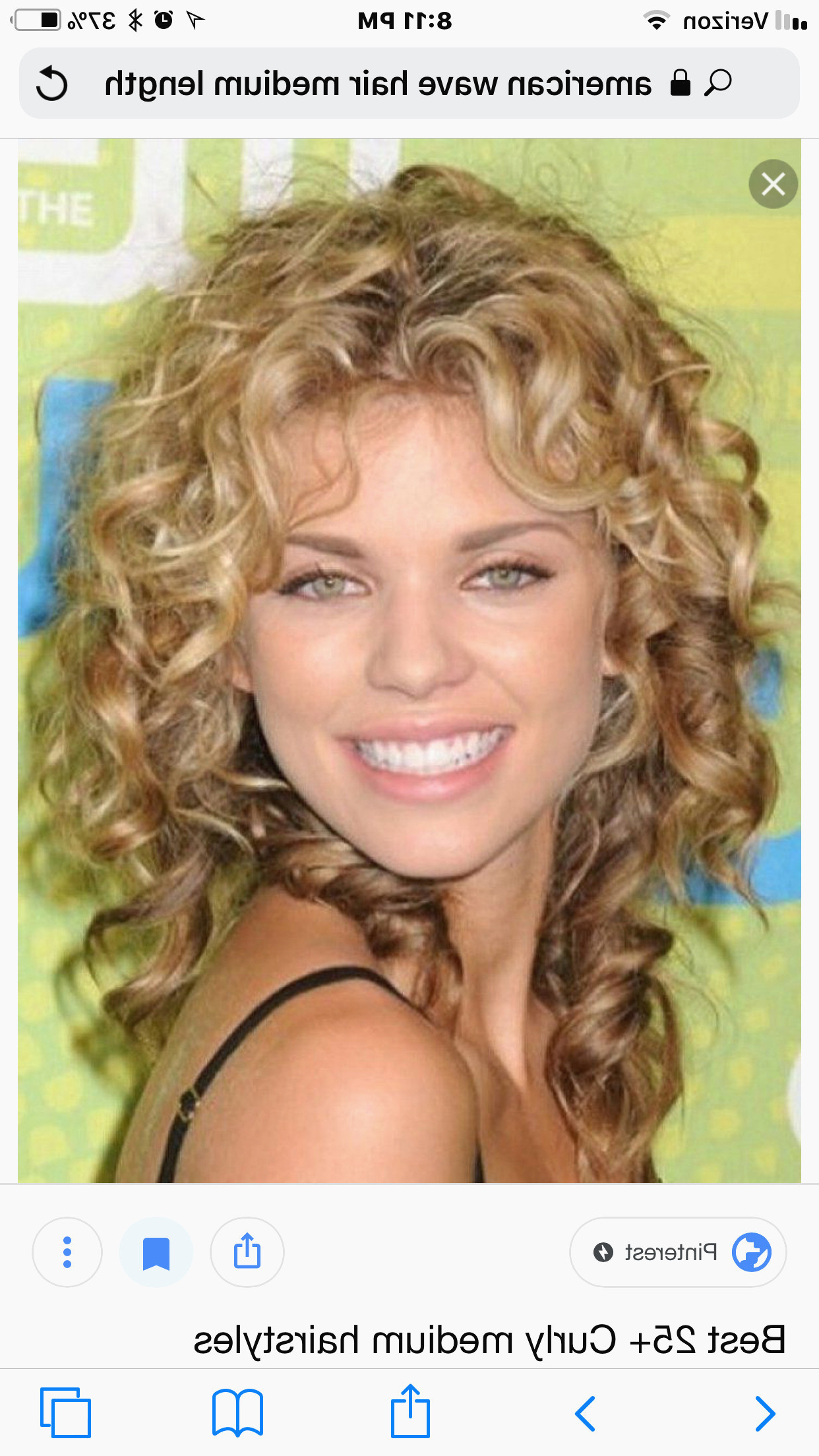 Big Curls Hairstyles Beautiful Most Popular Medium Length Hairstyles Throughout 2018 Big Curls Medium Hairstyles (View 18 of 20)
