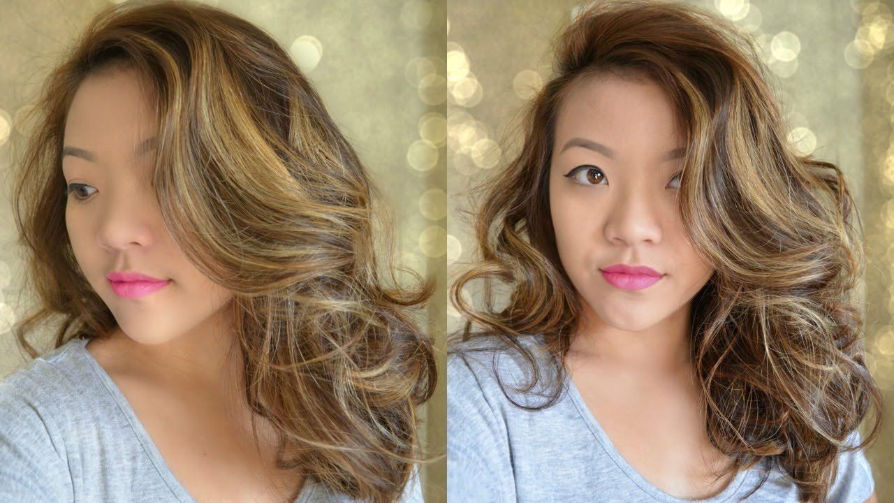Big Wavy Curls For Medium Length Hair – Bombshell Curls – Youtube With Regard To Most Current Medium Hairstyles Loose Curls (View 19 of 20)