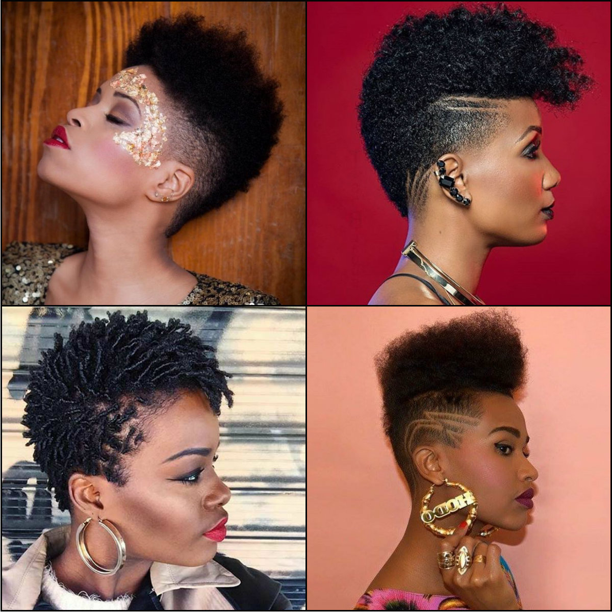 Black Women Fade Haircuts To Look Edgy And Sexy (View 7 of 20)