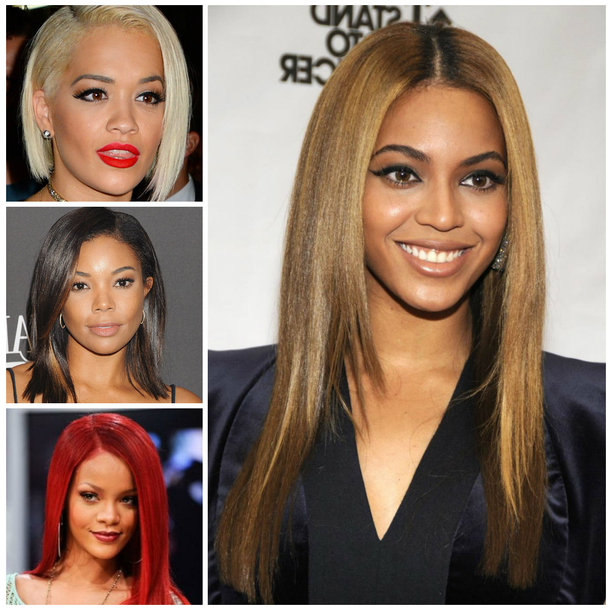 Black Women With Straight Hairstyles (View 4 of 20)