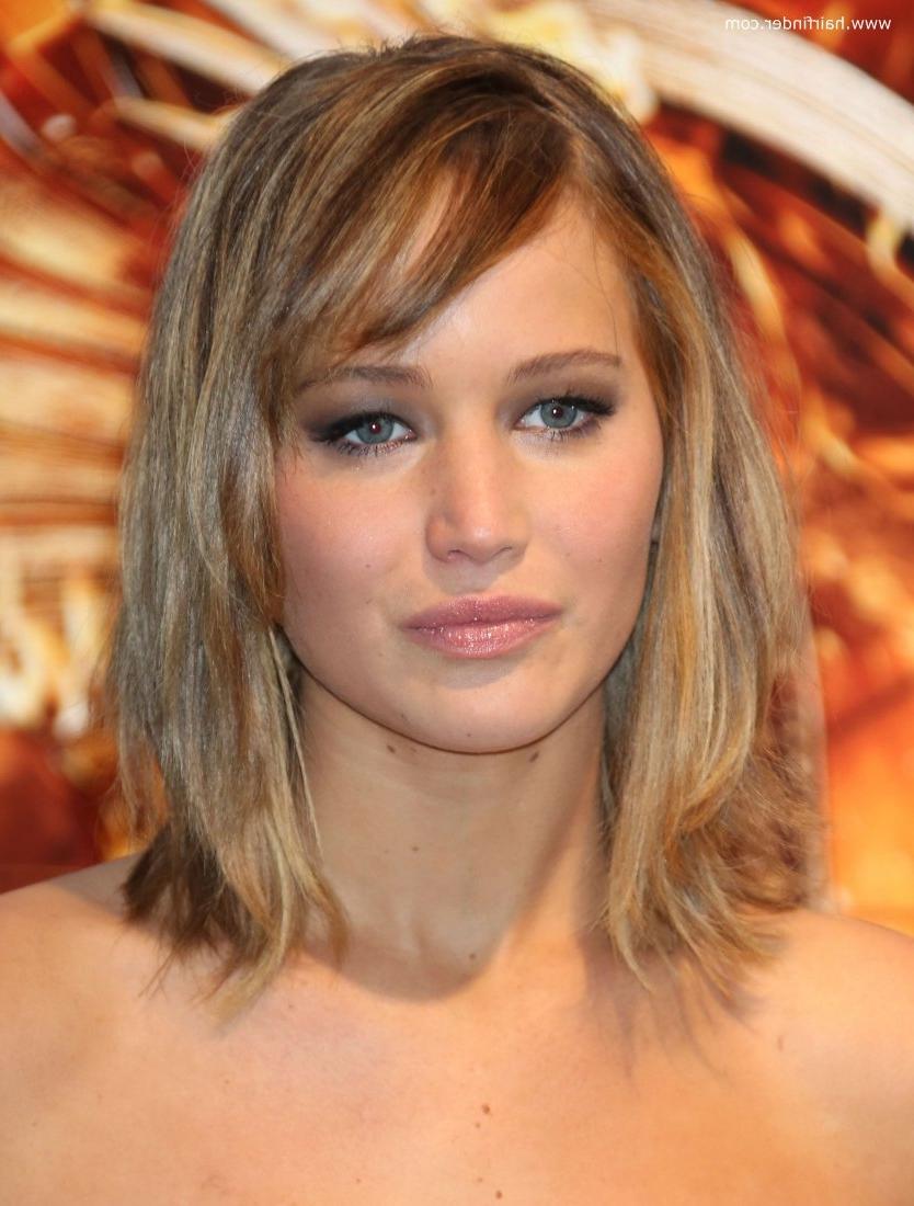 Blonde Medium Hairstyles Medium Blonde Hairstyles Medium Blonde In Famous Jennifer Lawrence Medium Hairstyles (View 3 of 20)