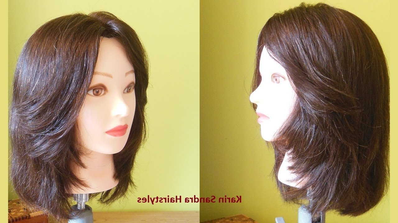 Bob Haircut With Face Framing Layers Haircut (View 8 of 20)