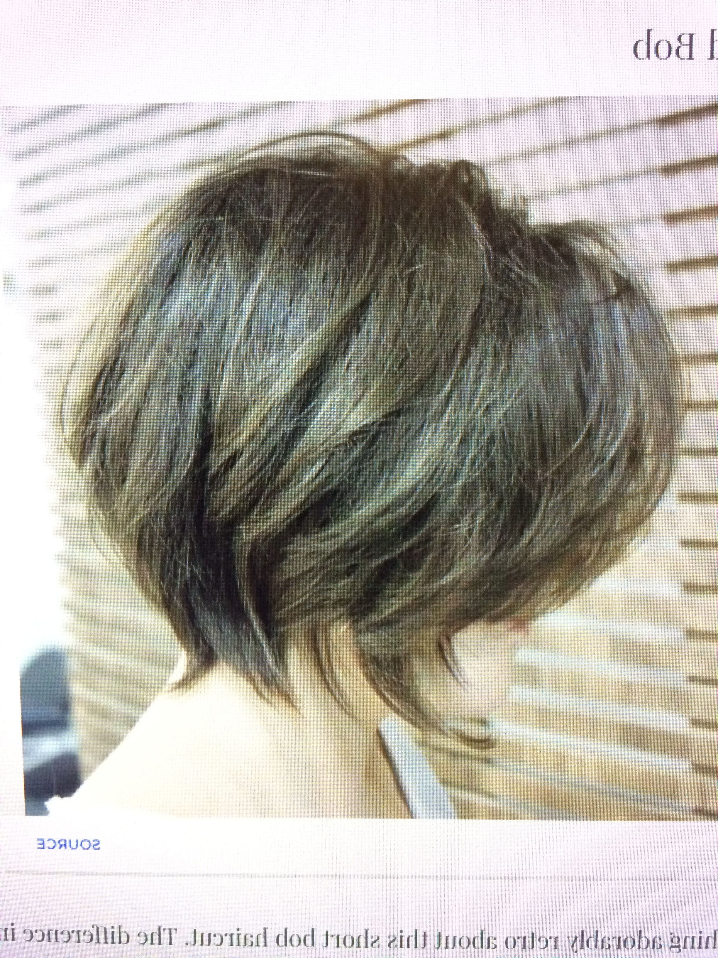 Featured Photo of Layered Tousled Bob Hairstyles