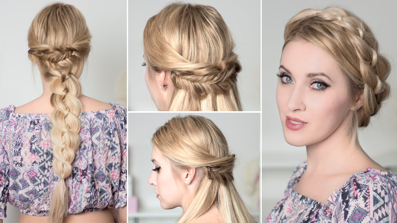 Boho Chic Hairstyles For Everyday/party/prom/wedding ☆ Medium/long Pertaining To Most Up To Date Boho Medium Hairstyles (View 9 of 20)