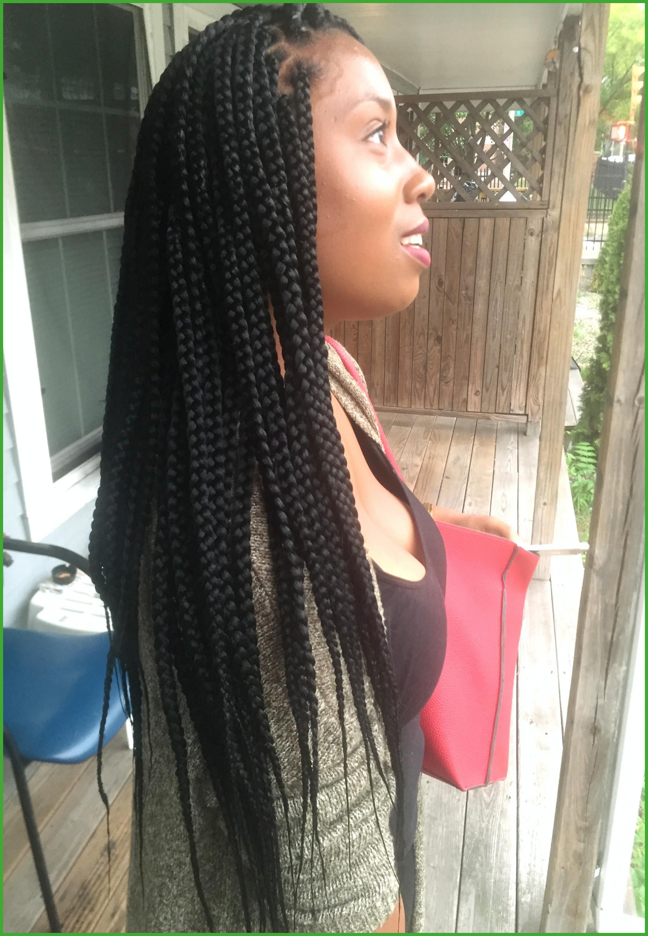 Braid Hairstyles With Shaved Sides Medium Waist Length Box Braids For Most Recently Released Medium Haircuts With Shaved Sides (View 4 of 20)