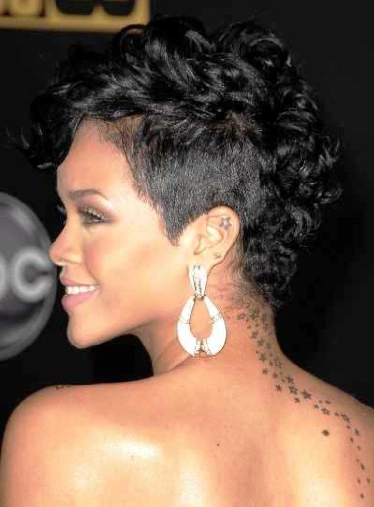 Featured Photo of Short Curly Mohawk Hairstyles