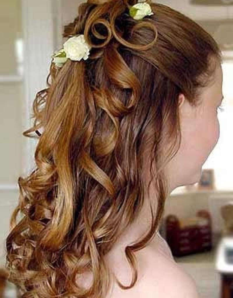 Bridesmaid Hairstyles For Medium Hair – World Of Bridal Within Widely Used Medium Hairstyles For Weddings For Bridesmaids (View 2 of 20)