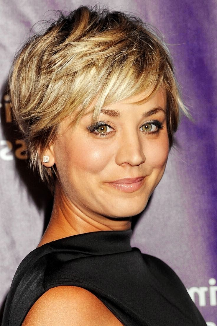 Celebrity Short Shaggy Haircuts For Fine Hair (View 8 of 20)