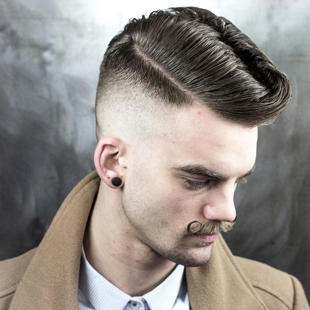 Classic Mens Hairstyles For 2017 — Classic Style With Well Liked Classy Wavy Mohawk Hairstyles (View 8 of 20)