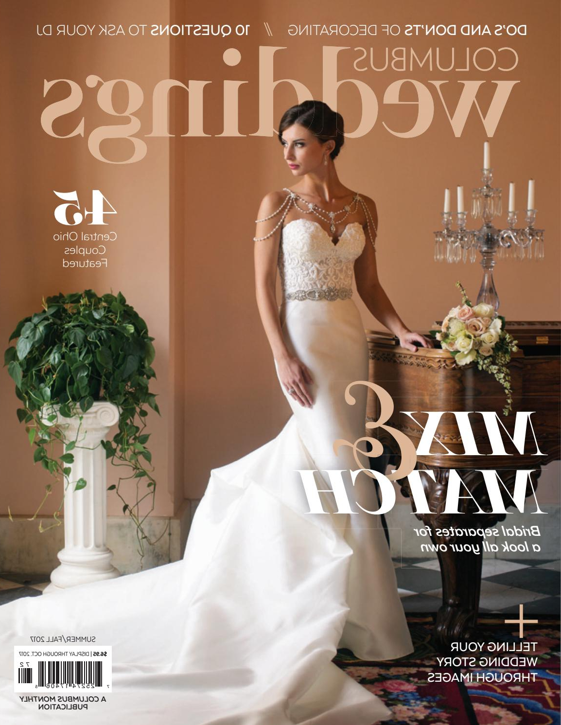 Columbus Weddings – Summer/fall 2017The Columbus Dispatch – Issuu For Famous Wedding Day Bliss Faux Hawk Hairstyles (View 5 of 20)