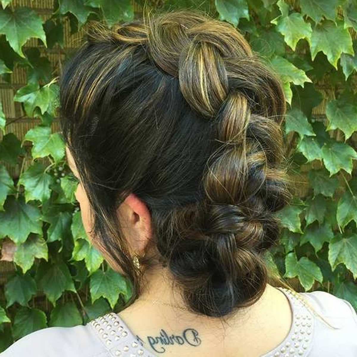 Cool French Braid Mohawk Updo – Hairstyles In 2017 Cool Mohawk Updo Hairstyles (View 5 of 20)