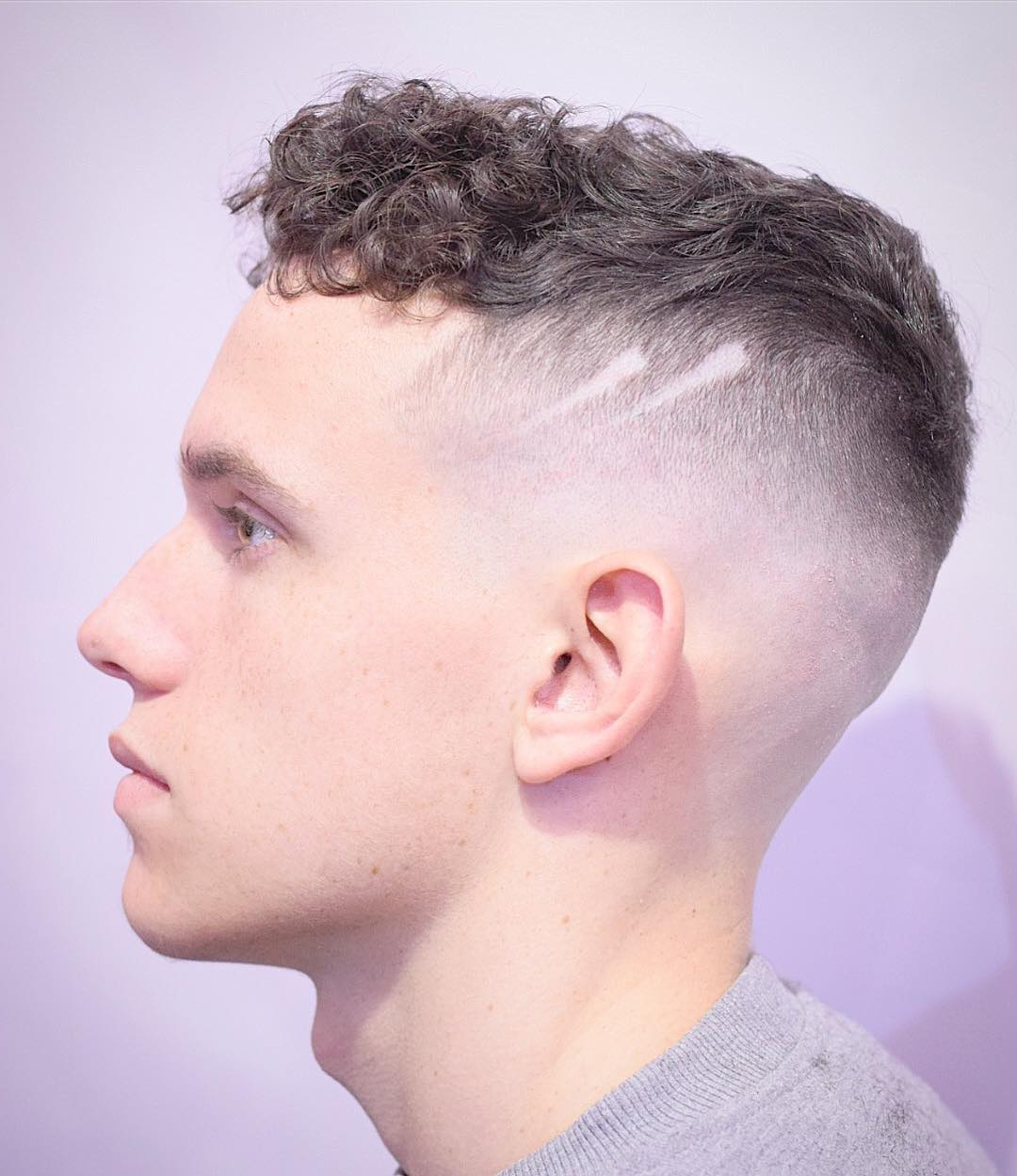 Cool Haircuts With Shaved Sides For Trendy Medium Haircuts With Shaved Sides (View 5 of 20)