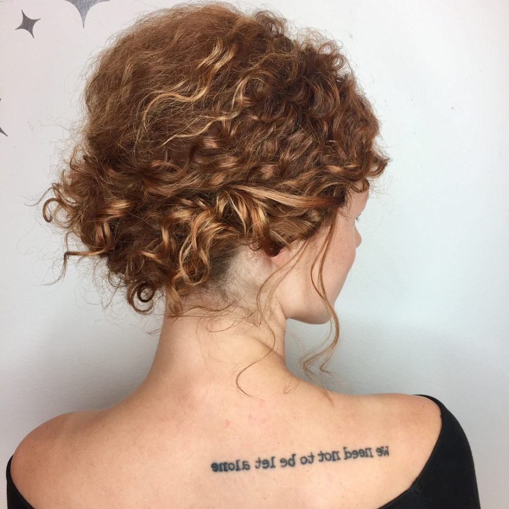 Curly Hairstyles For Prom Regarding Preferred Curly Medium Hairstyles For Prom (View 12 of 20)