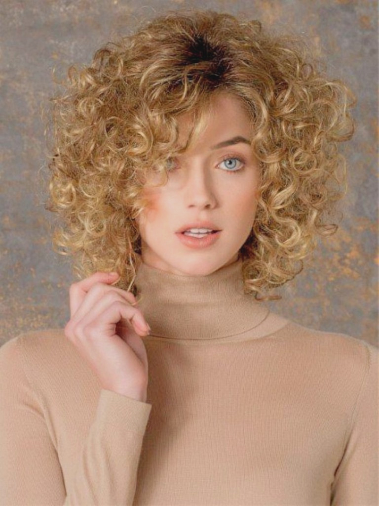 Curly Hairstyles : Fresh Medium Hairstyles For Fine Curly Hair Inside Best And Newest Medium Hairstyles For Fine Curly Hair (View 4 of 20)