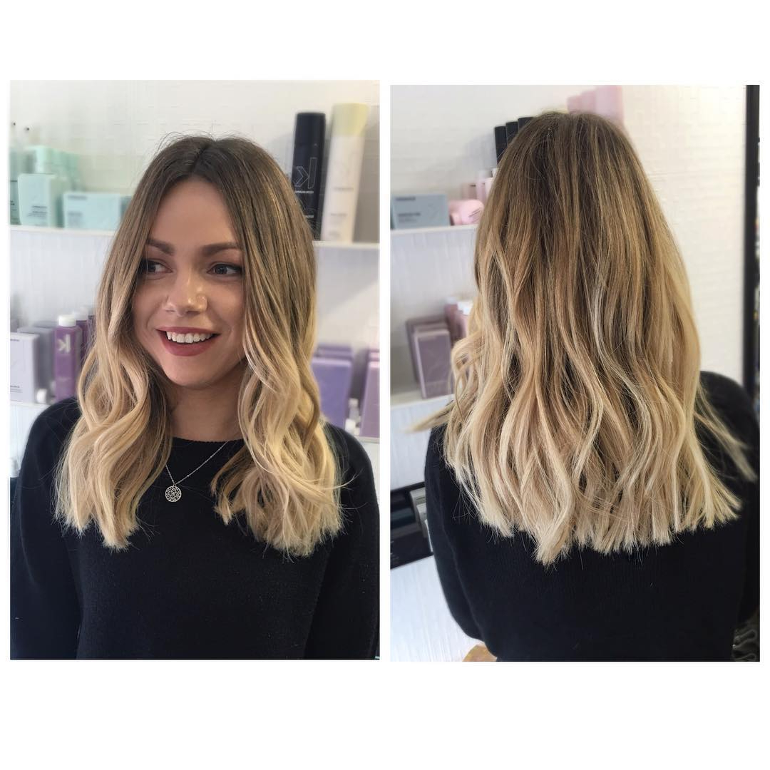 Current Blunt Cut Medium Hairstyles In Medium Hairstyle : Shoulder Length Layered Haircuts For Curly Hair (View 11 of 20)