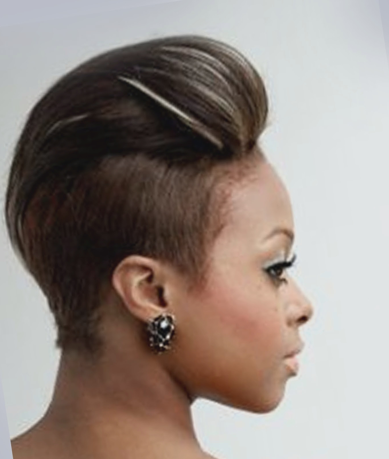 Current Designed Mohawk Hairstyles For Hairstyles For Women : View Mohawk Hairstyles For Black Women On A (View 15 of 20)