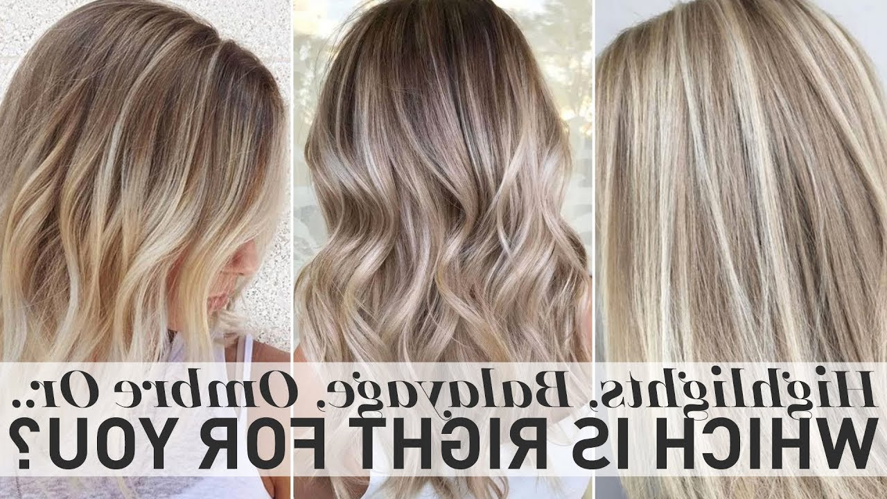 Current Fringy Layers Hairstyles With Dimensional Highlights Inside Highlights, Balayage, Ombre Or Sombre – Which Is Right For You (View 12 of 20)