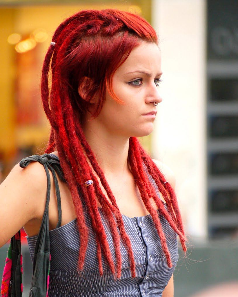 Current Hair With Regard To Most Popular Vibrant Red Mohawk Updo Hairstyles (View 5 of 20)