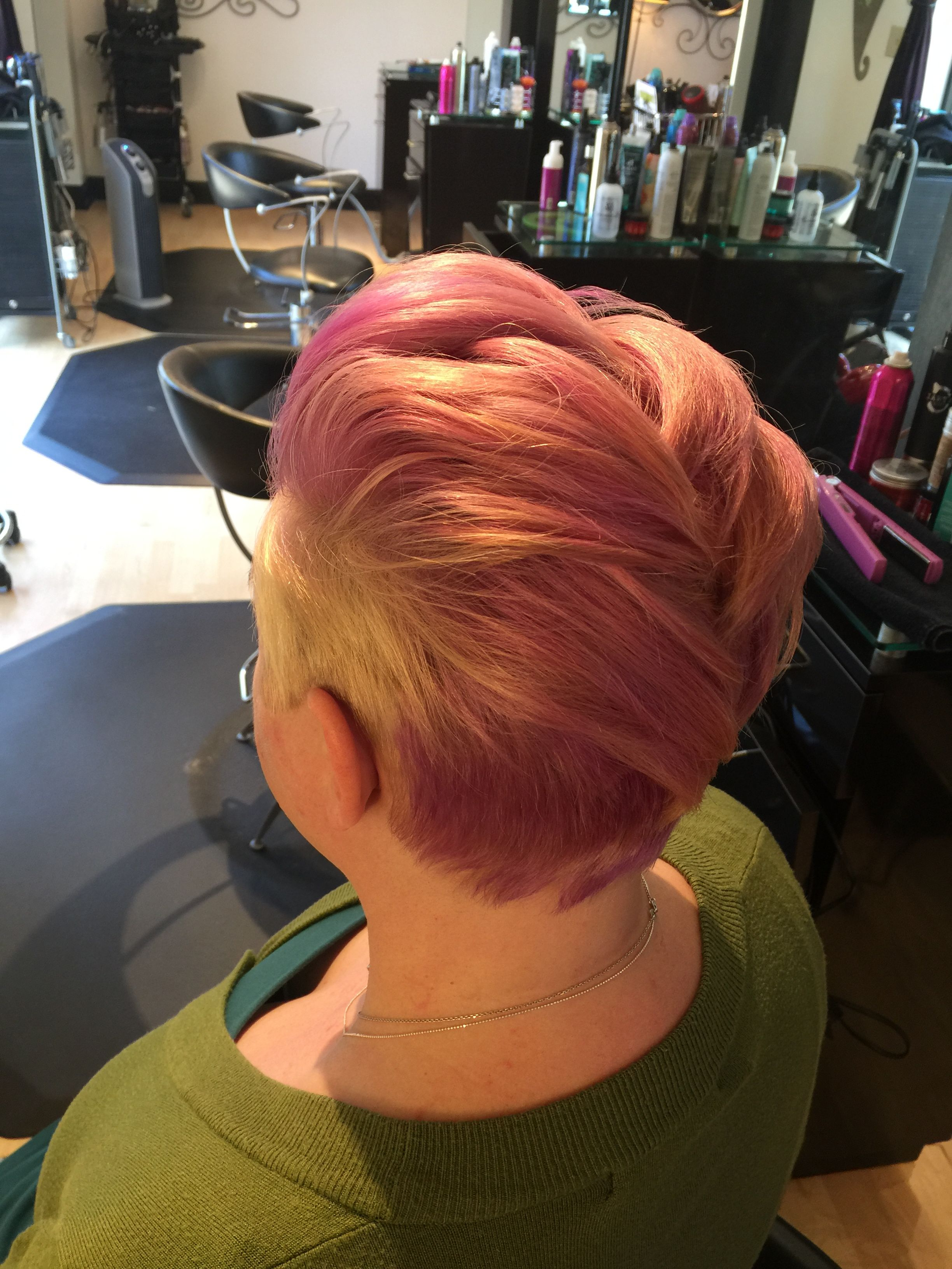 Current Holograph Hawk Hairstyles Regarding Faux Hawk With Undercut. Pixie (View 7 of 20)