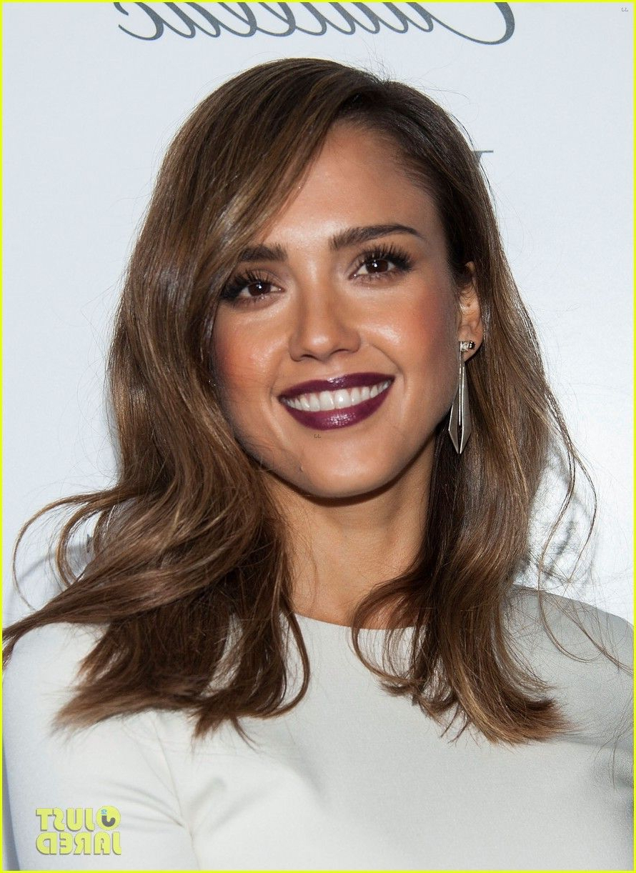 Current Jessica Alba Medium Haircuts Within Jessica Alba Makeup Inspiration (View 4 of 20)