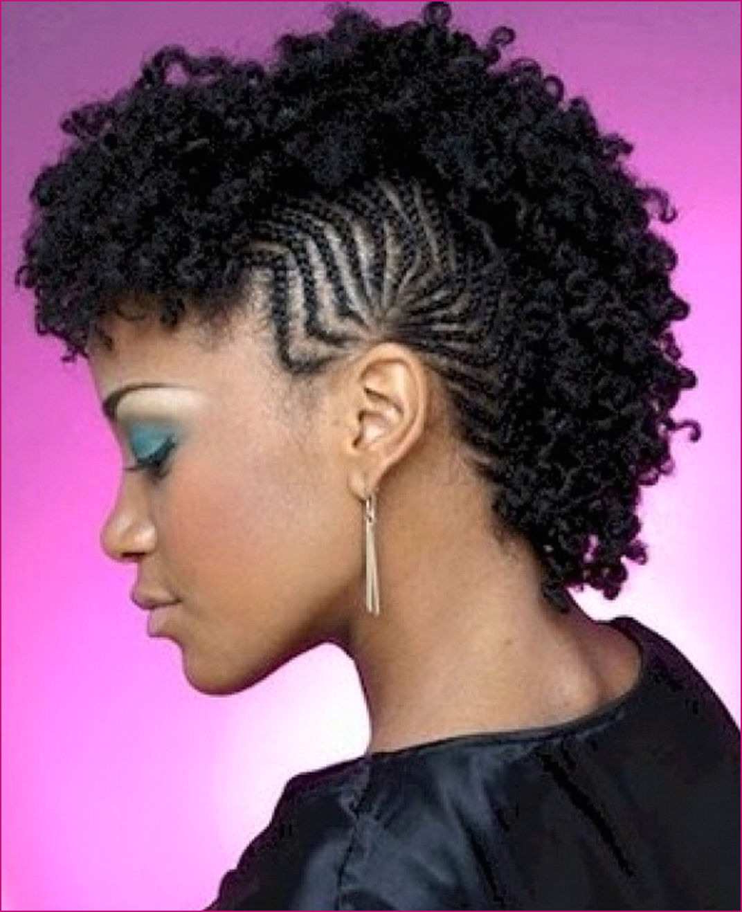 Current Long And Lovely Mohawk Hairstyles For Lovely Mohawk Hairstyles For Natural Hair For Need An Elegant Hairdo (View 6 of 20)