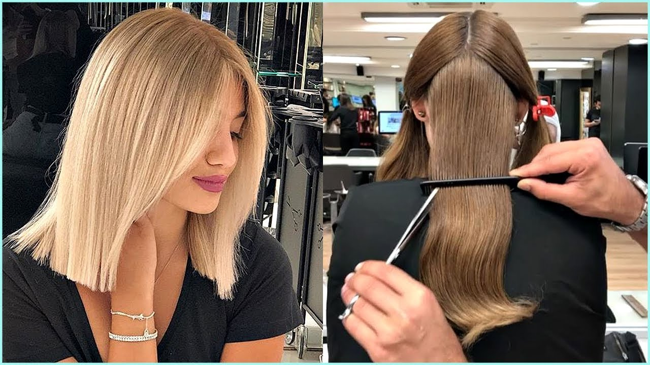 Current Medium Hairstyles And Colors Throughout 12 Short And Medium Haircuts For Women 😍haircut And Color (View 6 of 20)