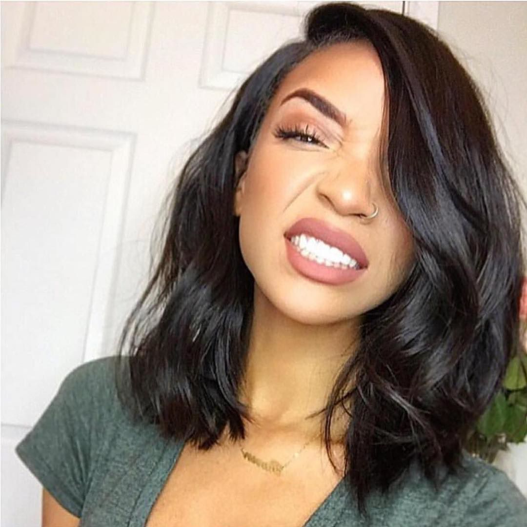 Current Medium Hairstyles For Black Hair In Cute Hairstyle (View 10 of 20)