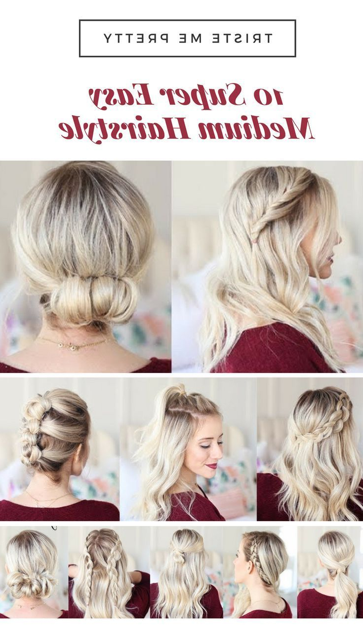 Current Medium Hairstyles For Night Out With Pinprtha Lastnight On Hairstyles Ideas In  (View 8 of 20)