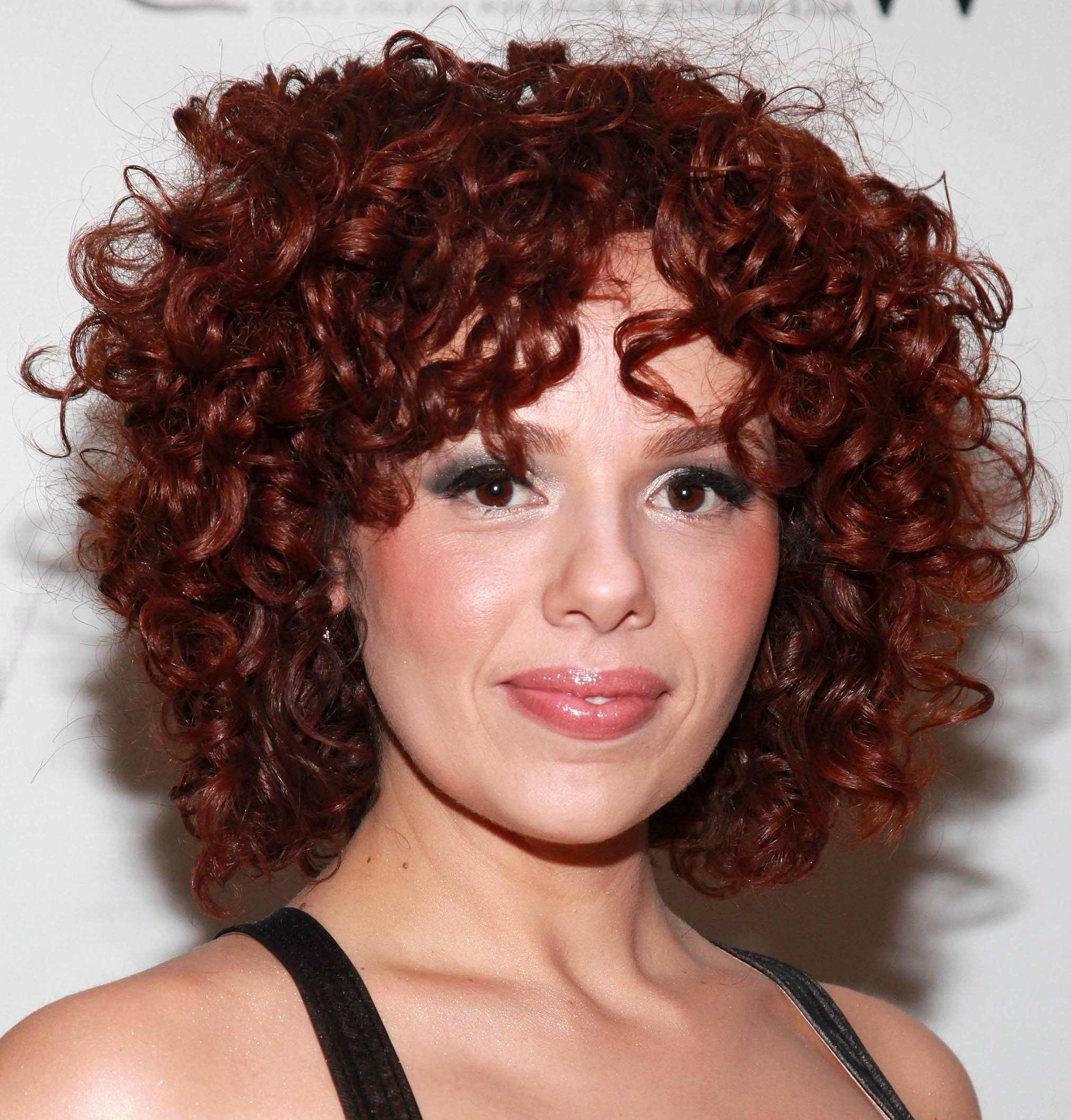 Current Medium Hairstyles For Very Curly Hair With Regard To Curly Hairstyle : Hairstyles For Really Curly Hair Short Haircuts (View 13 of 20)