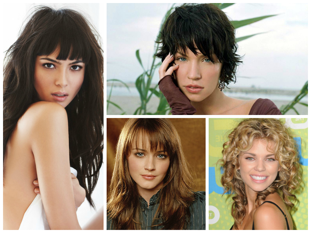 Current Oval Face Shape Medium Haircuts Pertaining To The Best Bang Hairstyles For Oval Face Shapes – Women Hairstyles (View 7 of 20)