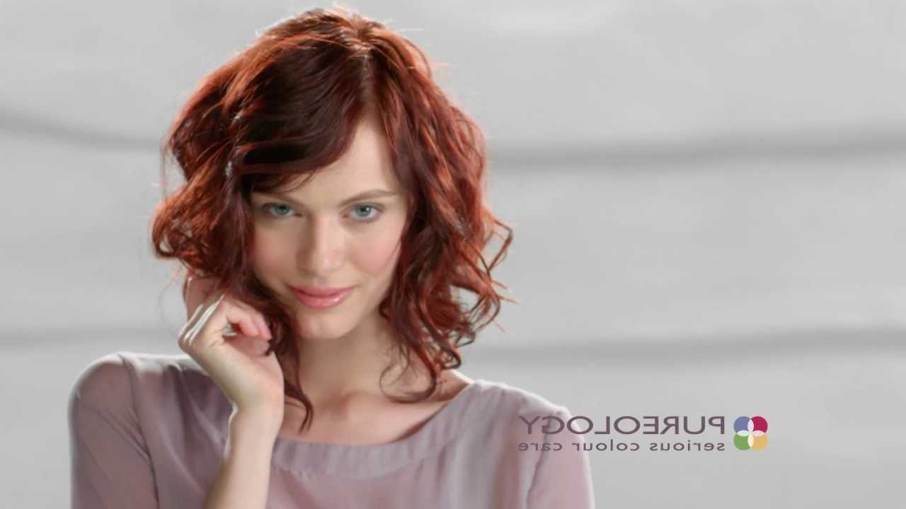 Current Tousled Medium Hairstyles Intended For Create A Beachy, Tousled Hairstyle Look – Step By Step Video (View 6 of 20)