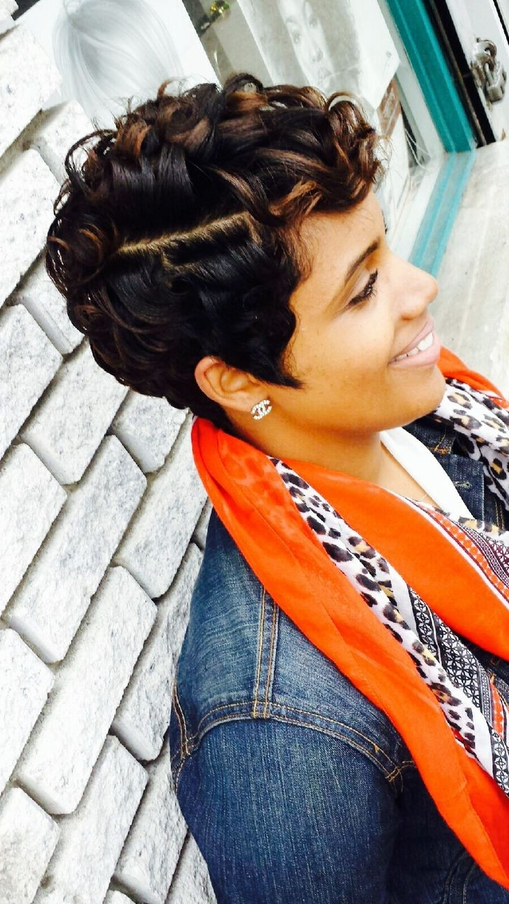 Current Very Medium Haircuts For Black Women In 55 Winning Short Hairstyles For Black Women (View 5 of 20)