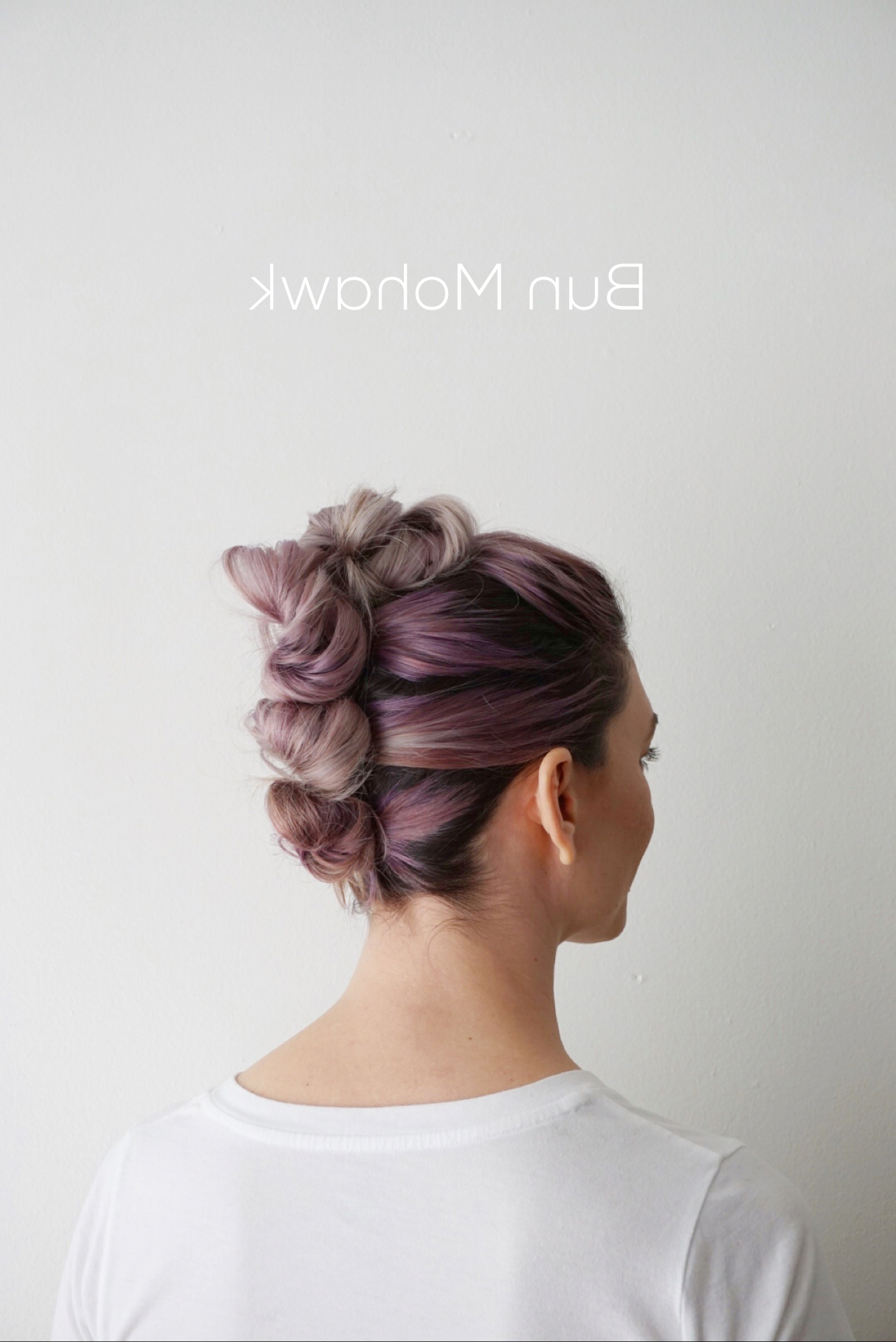Cute Girls Hairstyles Inside Most Up To Date Lavender Braided Mohawk Hairstyles (View 8 of 20)
