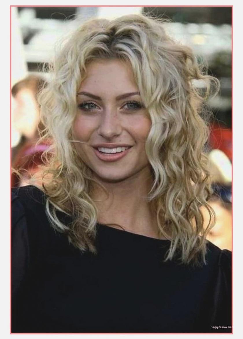 Cute Hairstyles For Medium Thin Curly Hair Elegant Cute Hairstyles Pertaining To Latest Medium Hairstyles For Thin Curly Hair (View 6 of 20)