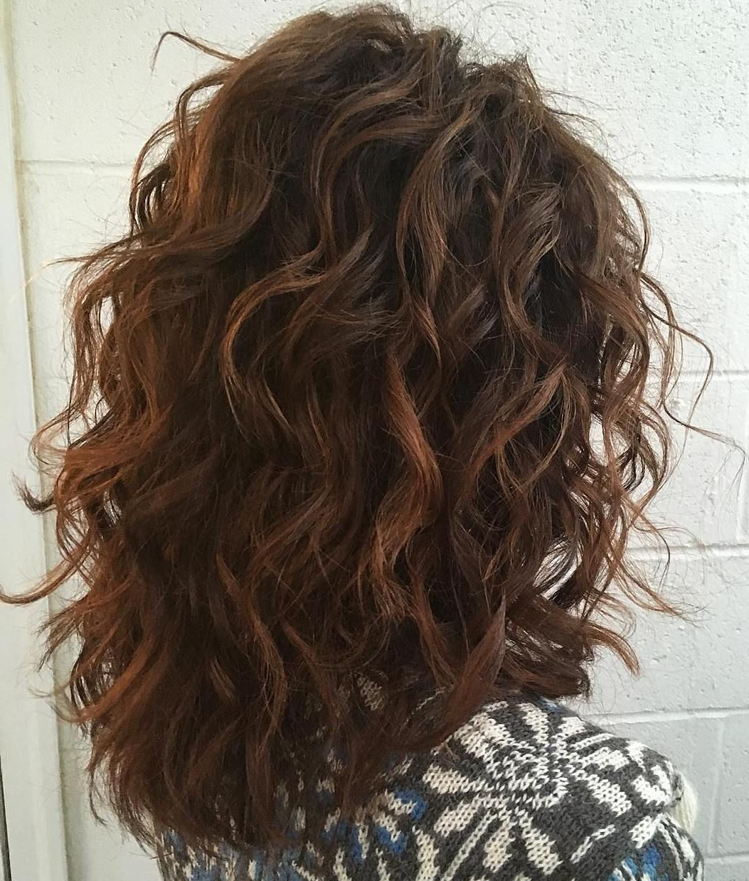 Cute Intended For 2018 Medium Haircuts For Naturally Curly Hair And Round Face (View 6 of 20)