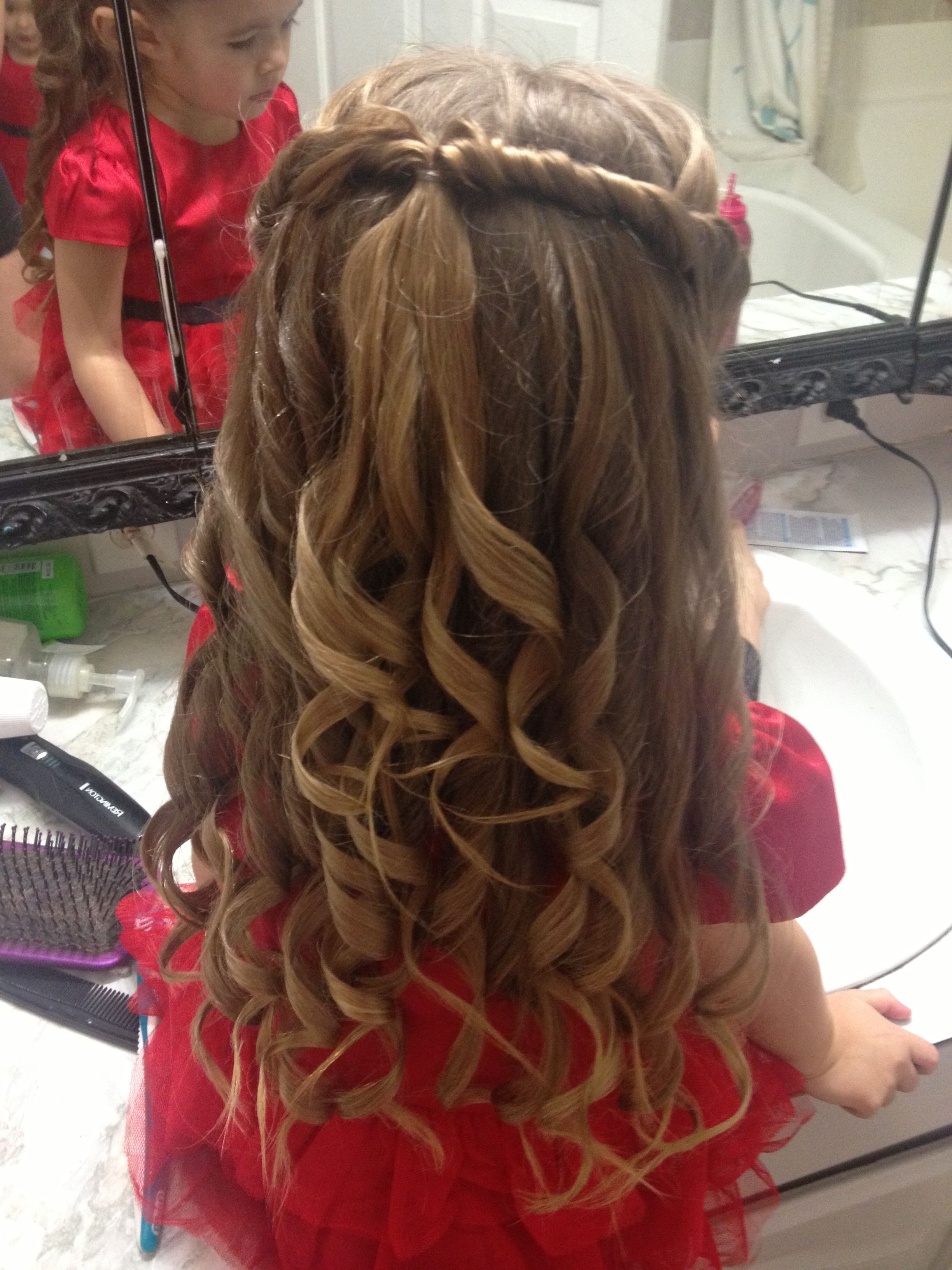 Cute Little Girls Hair Style For A Special Occasion (View 7 of 20)