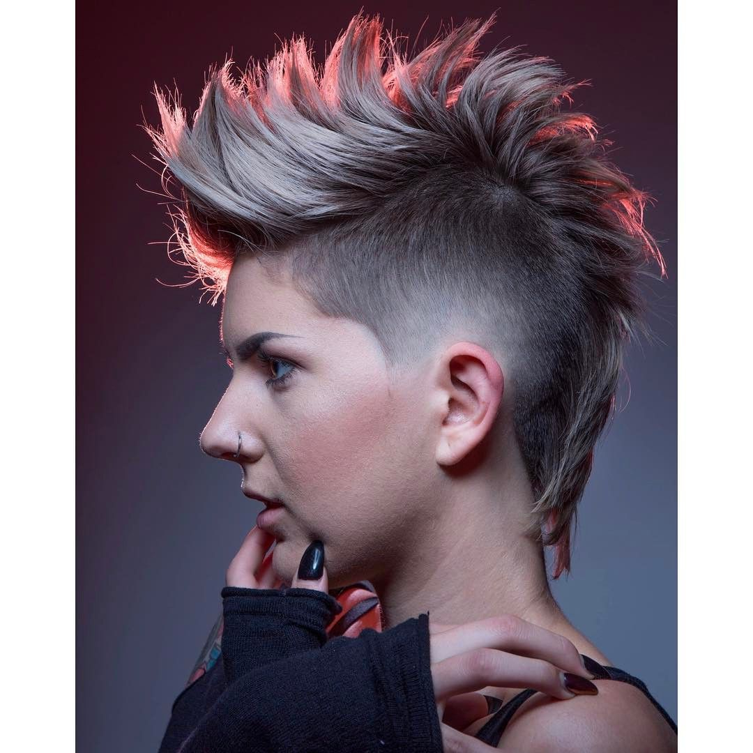 Featured Photo of Funky Pink Mohawk Hairstyles